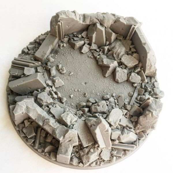 130mm Urban Rubble Base